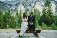 Canada mountain wedding