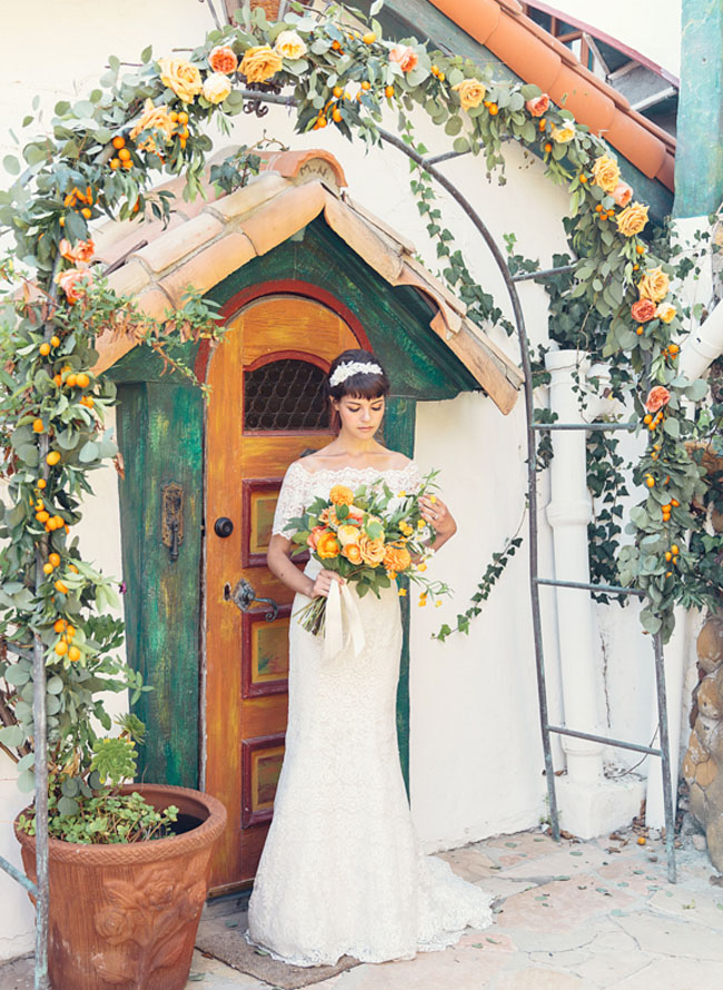 Rustic Mediterranean Wedding Inspiration