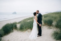 Oregon ocean wedding