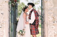 Outlander inspired wedding