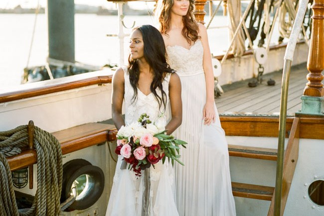 bridal ship shoot