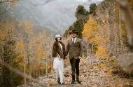 Colorado Ghost Town wedding