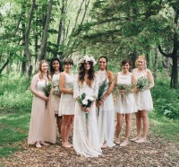 Bohemian Backyard Wedding in Milwaukee: Rea + Danny ...