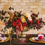vibrant fall romance inspiration