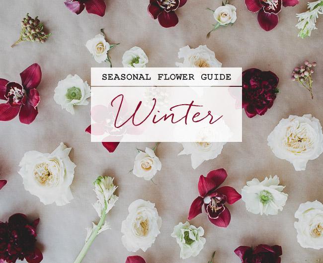 Wedding Flowers By Season 37 Trend Seasonal Flower Guide Winter