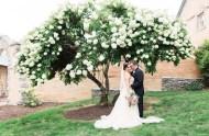 romantic Pennsylvania wedding