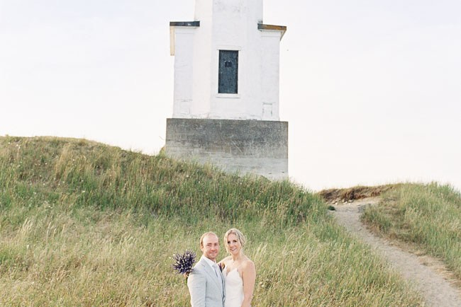 Lighthouse elopement