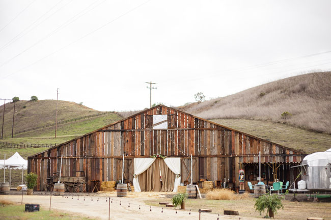 California wild west ranch wedding