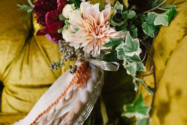 kinfolk inspired bouquet
