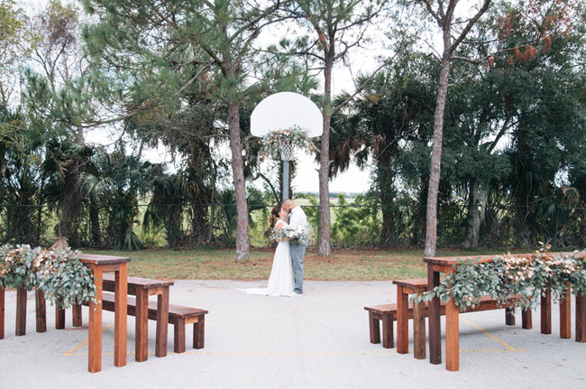 March Madness wedding inspiration