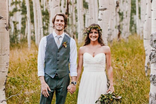 Intimate Utah Mountain Wedding Ashton Jordan