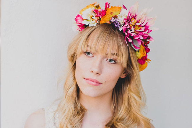 DIY Spring Flower Crown