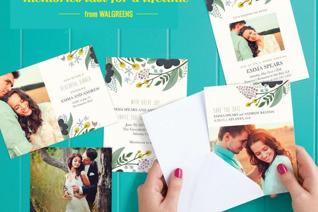 Walgreens Wedding Invitations