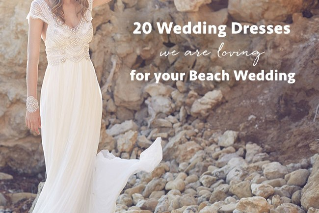 top 20 beach wedding dresses