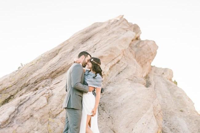 Vasquez Rocks Engagement
