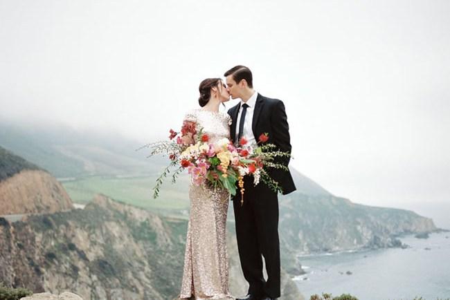 Glam Big Sur Engagement