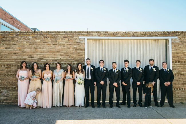 Glam Urban Dallas Wedding