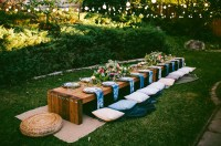 10 Tips to Throw a Boho Chic Outdoor Dinner Party | Green ...