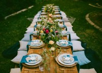 10 Tips to Throw a Boho Chic Outdoor Dinner Party - Green ...
