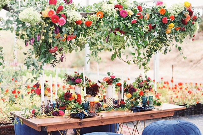 Luxe Fall Boho Table