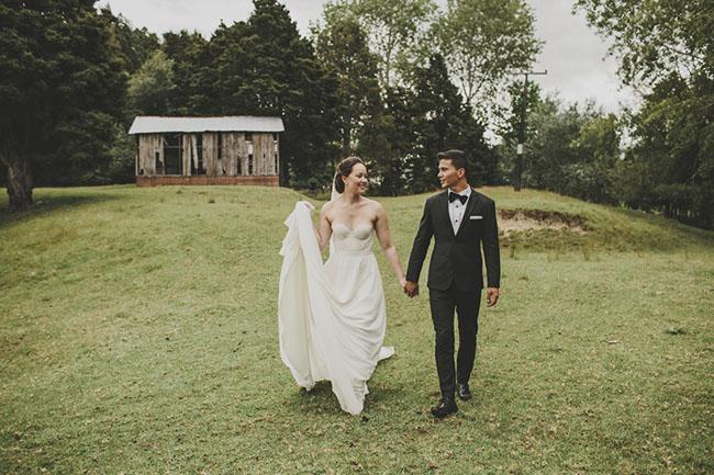 Backyard Australian Wedding