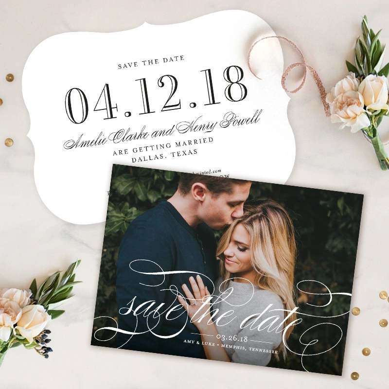 Save the Date Giveaway from Minted  Green Wedding Shoes