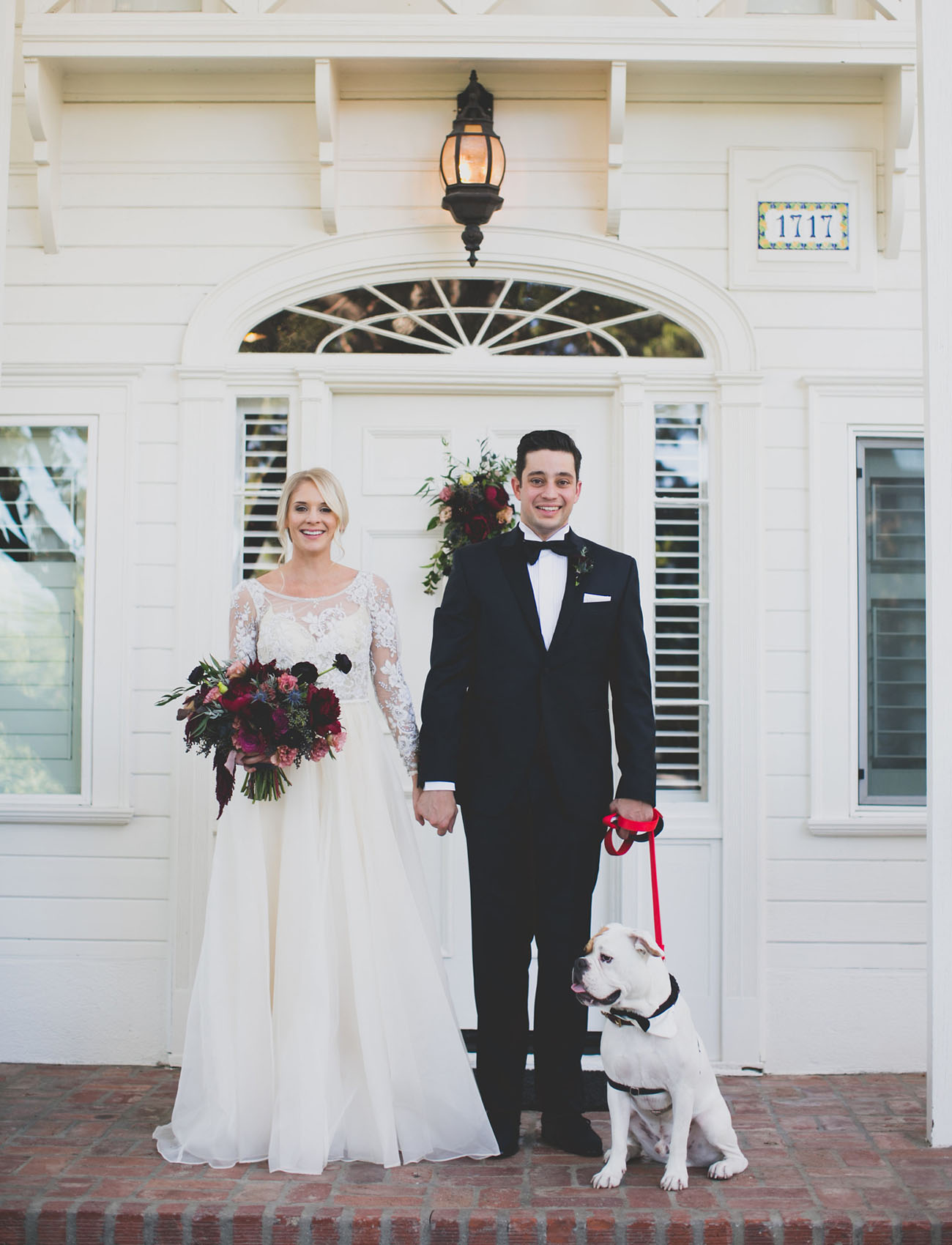 Bohemian Black Tie Hollywood Wedding Lindsey  Saman