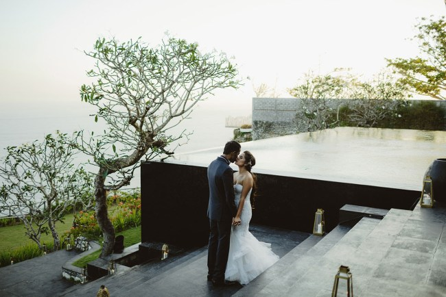 Cliffside Bali Wedding