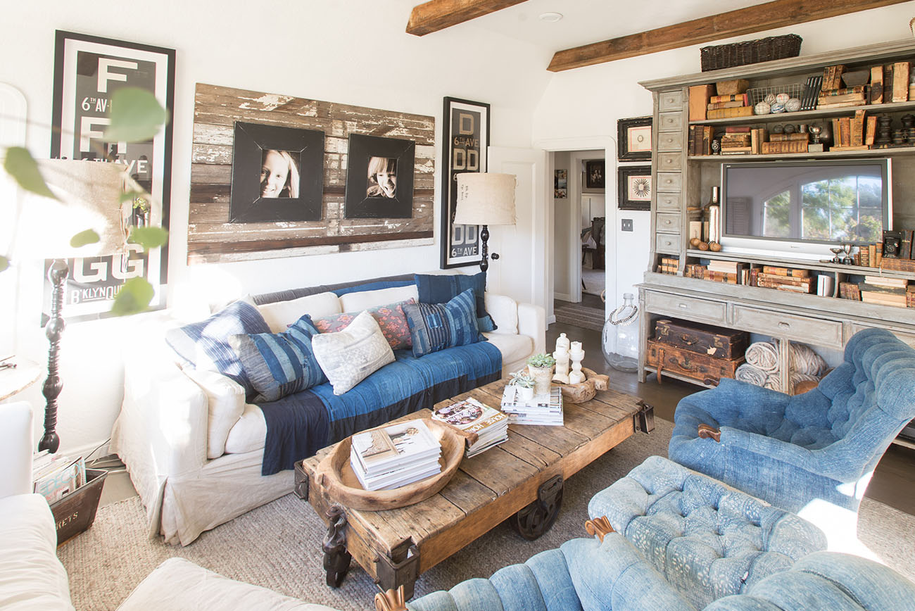 Simple Home Tour The Cozy Bright Cottage of Jeni from Found Rentals