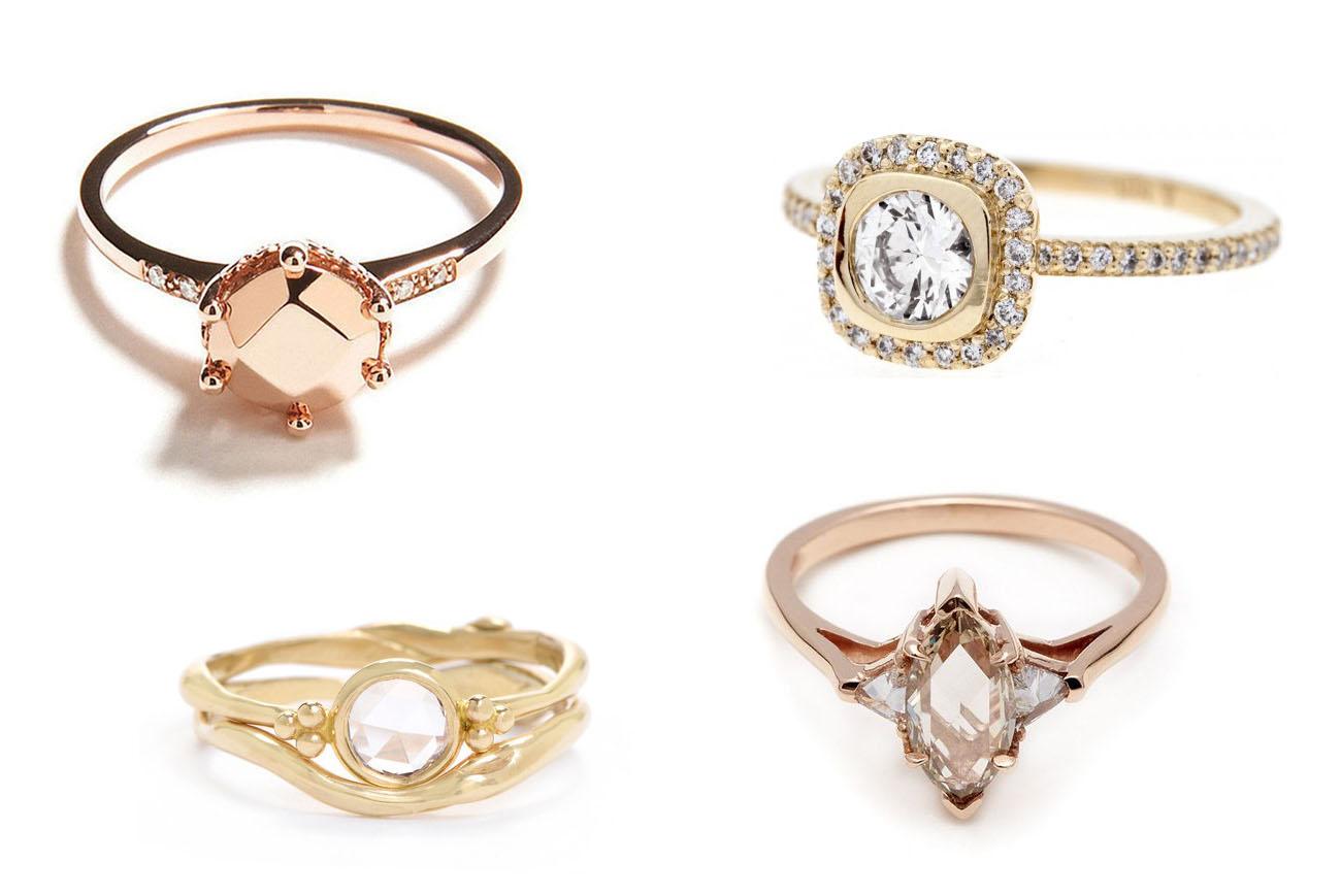 Unique Wedding Rings 49 Epic Our Favorite Unique Engagement
