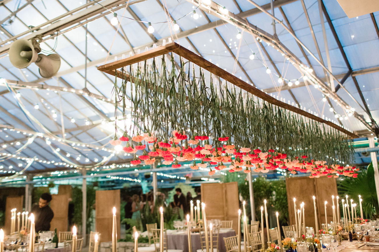 Bohemian Pennsylvania Greenhouse Wedding Christine