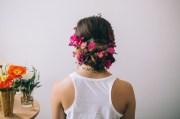 hair tutorial dutch flower braid