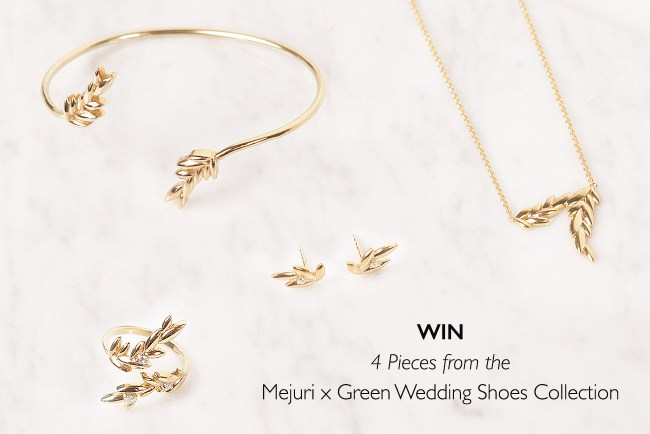 Mejuri x Green Wedding Shoes Contest