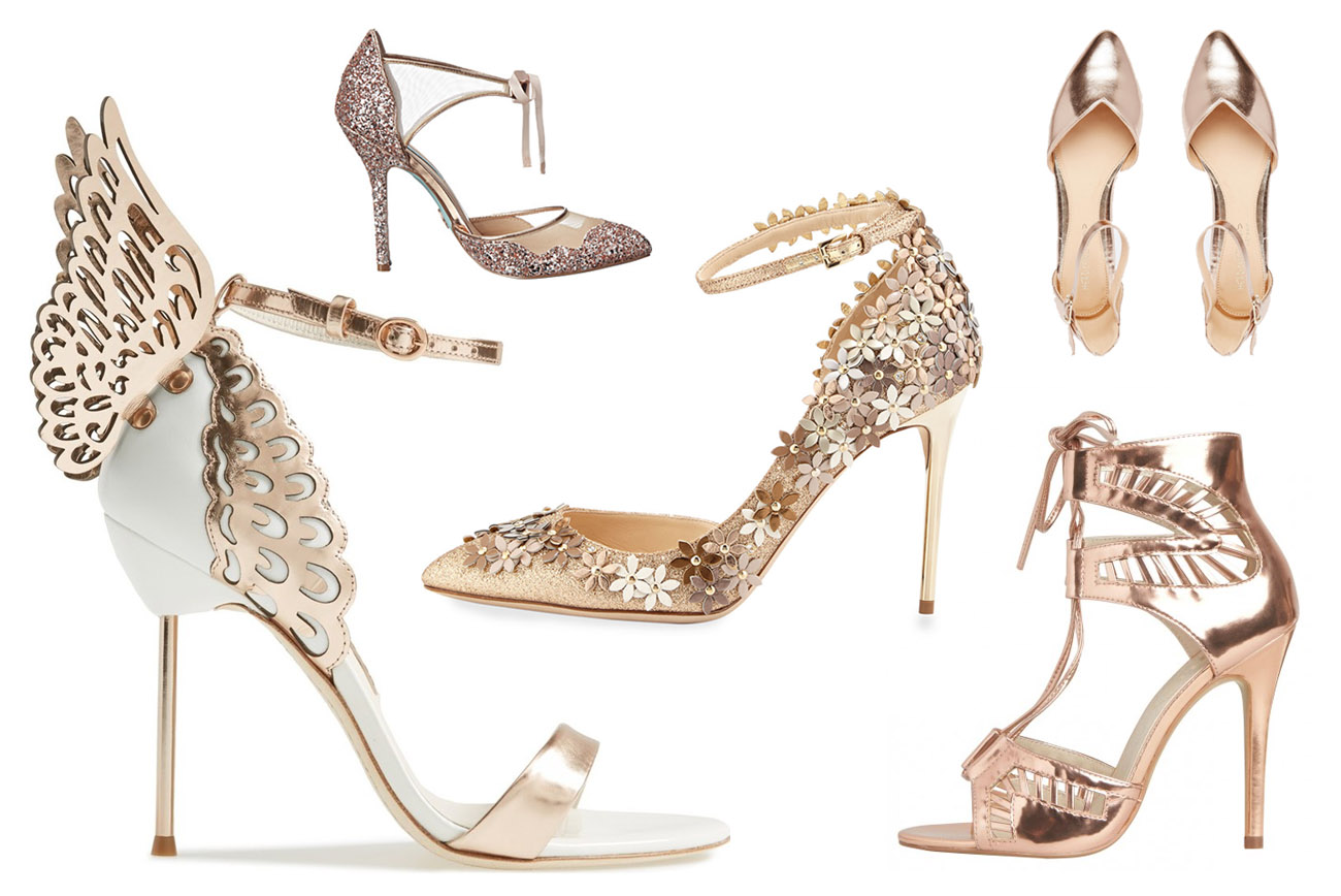 Gold Shoes For Wedding 83 Epic Our Favorite Metallic Heels