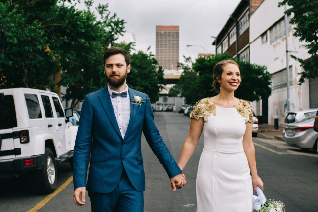 South African City Wedding