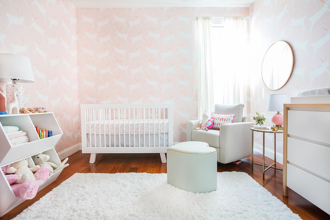 Modern Baby Girl Nursery Ideas