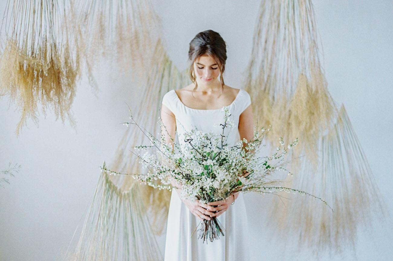 Wedding Dresses Torrance 64 Simple Minimalistic Organic Wedding Inspiration