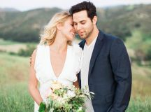Anna Camp + Skylar Astin's California Engagement Session ...