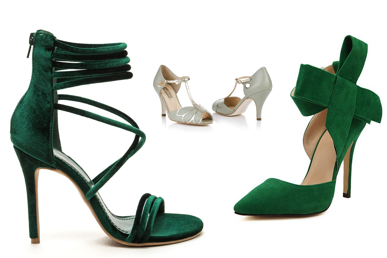 Comfortable Wedding Shoes For Bride 74 Fancy Green Wedding Shoes