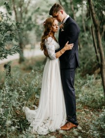 Enchanted Forest Wedding Dress