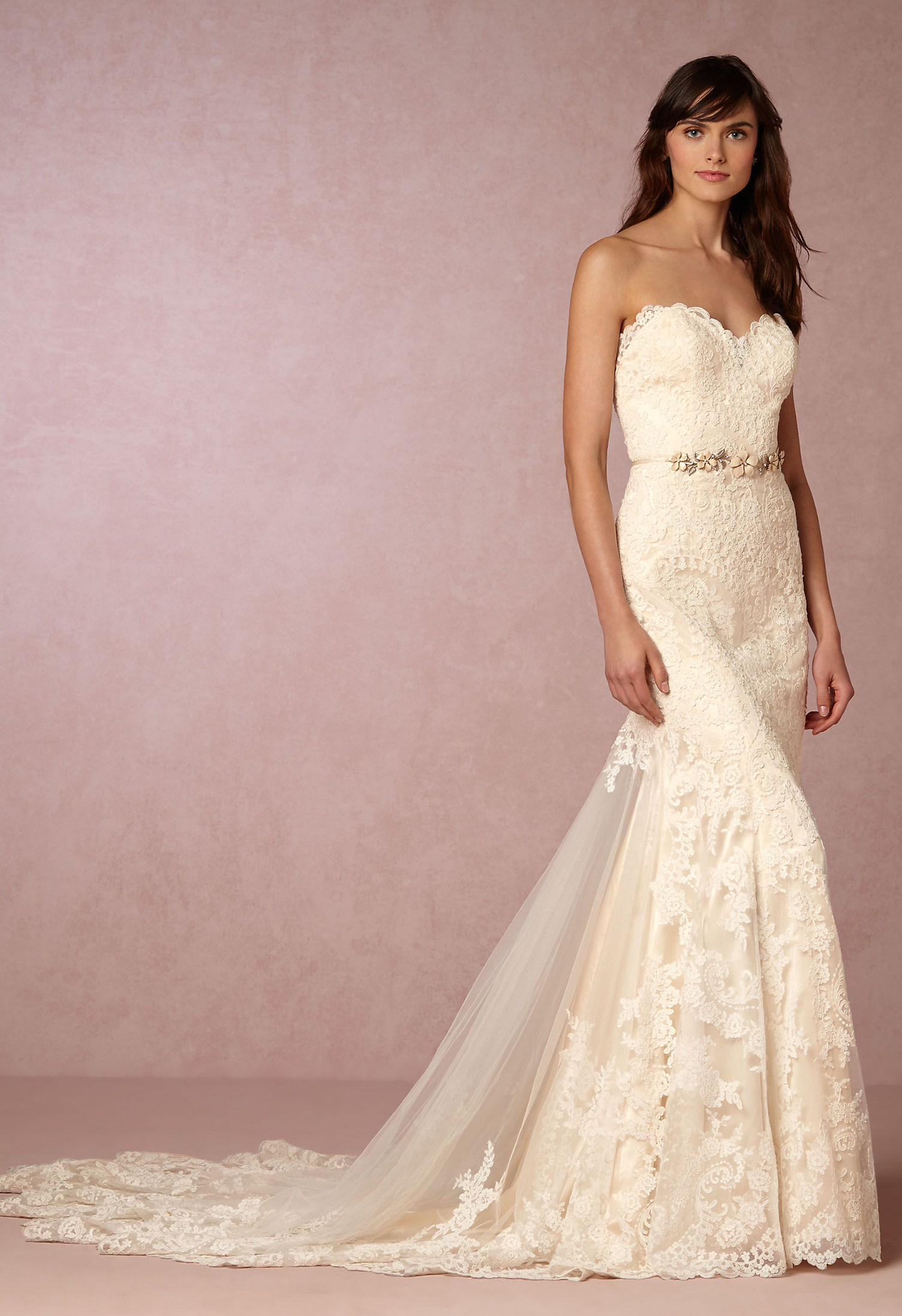 Leigh Gown - Green Wedding Shoes