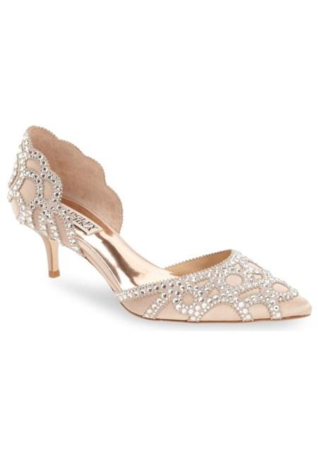 24d098385ae Marigold Block Heel - Green Wedding Shoes
