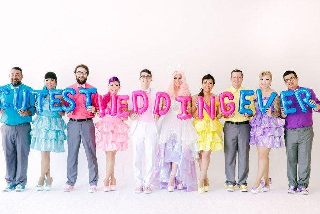 Kawaii Wonderland Wedding