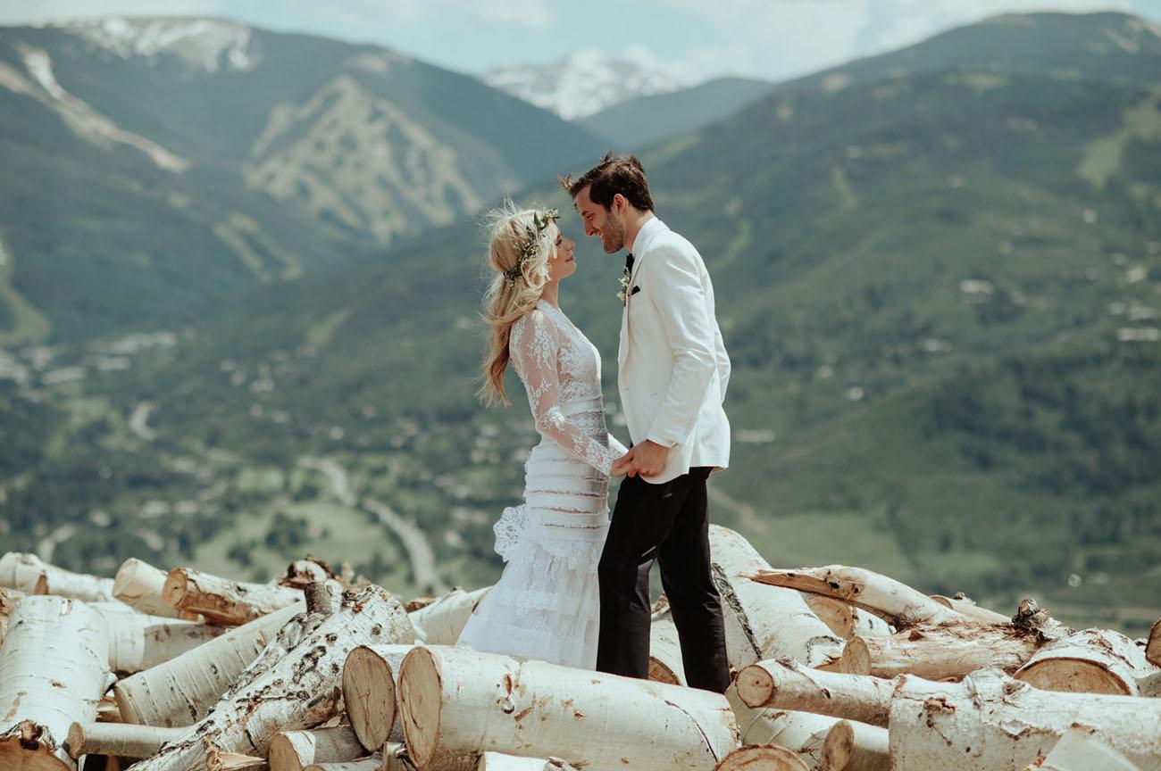 Native American Wedding Dresses 51 Amazing Moody Mountain Inspired Wedding