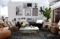 Modern Boho Interior Design with Wayfair Registry - Green ...