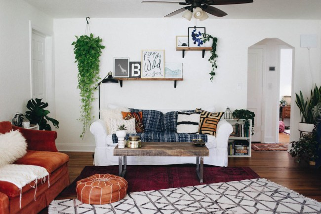 Boho Bungalow Home Tour