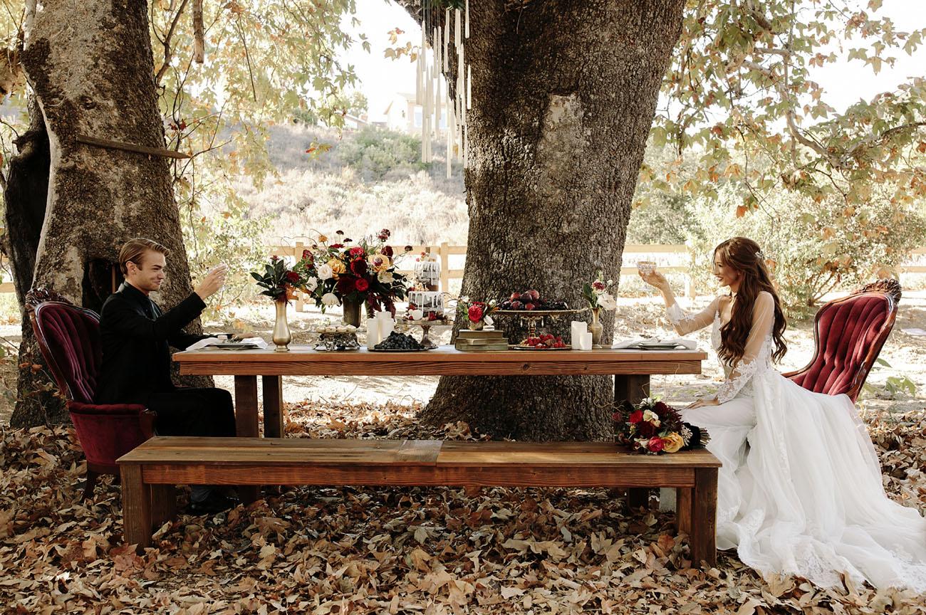 Gryffindor Wedding Dress