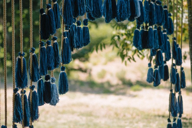 tassel backdrop