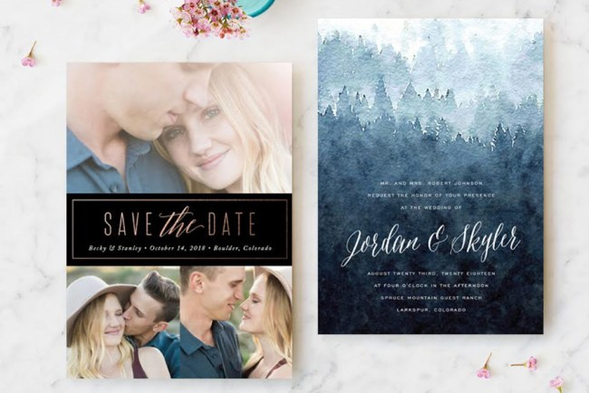Wedding Invitation Giveaway: Our Favorite Wedding Invitations From Minted + A $3500