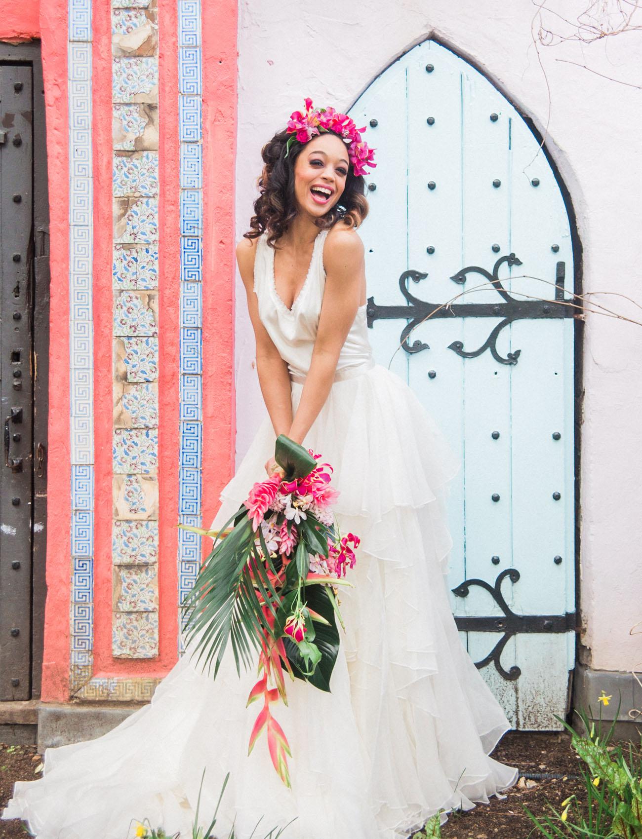 Tropical Vintage Havana Wedding Inspiration Green